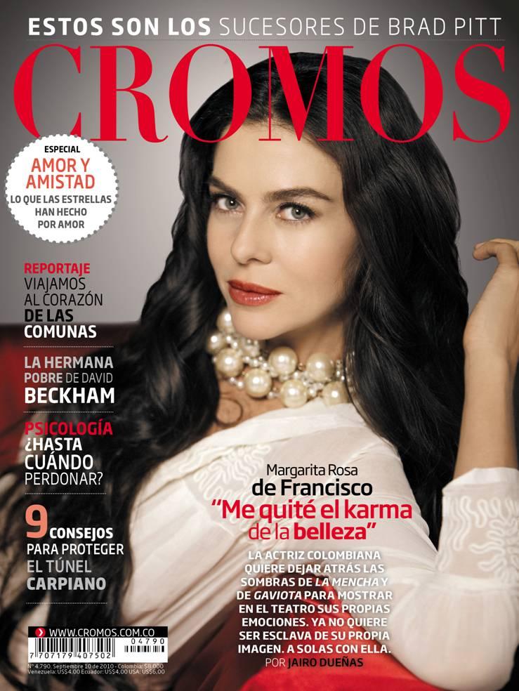 Margarita Rosa de Francisco en portada de Cromos