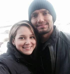 Abel Aguilar y su ex esposa
